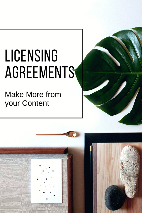 licensing agreements how to