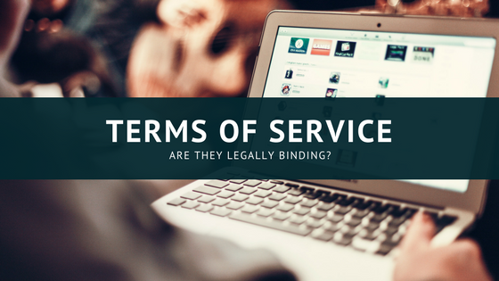 legality of terms of service