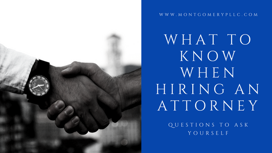 hiring an attorney for your business
